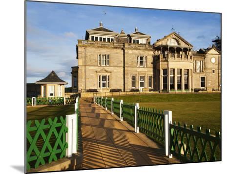Royal and Ancient Golf Club, St. Andrews, Fife, Scotland, United Kingdom, Europe-Mark Sunderland-Mounted Photographic Print