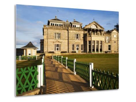 Royal and Ancient Golf Club, St. Andrews, Fife, Scotland, United Kingdom, Europe-Mark Sunderland-Metal Print