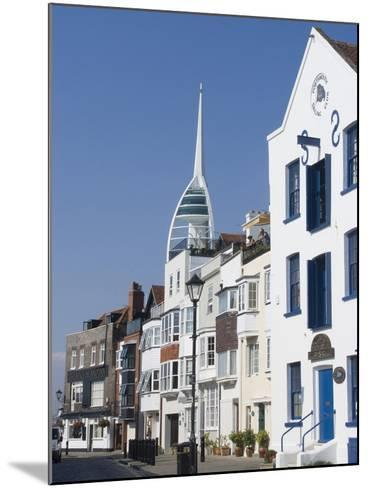 Old Portsmouth with the Spinnaker Tower Behind, Portsmouth, Hampshire, England, UK, Europe-Ethel Davies-Mounted Photographic Print