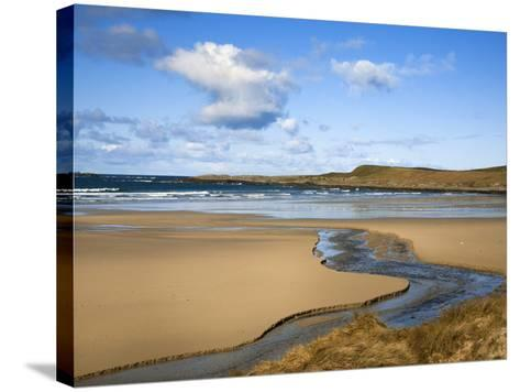 Machir Bay, Islay, Scotland, United Kingdom, Europe-Ann & Steve Toon-Stretched Canvas Print