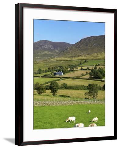 Luke's Mountain, Mourne Mountains, County Down, Ulster, Northern Ireland, United Kingdom, Europe-Jeremy Lightfoot-Framed Art Print