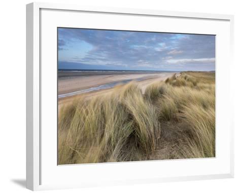 A Spring Evening at Holkham Bay, Norfolk, England-Jon Gibbs-Framed Art Print