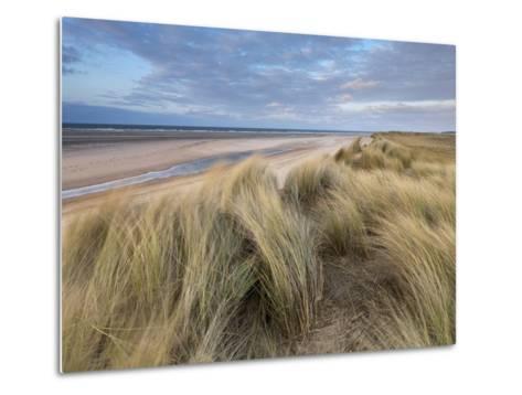 A Spring Evening at Holkham Bay, Norfolk, England-Jon Gibbs-Metal Print