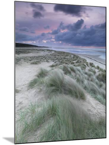 A Moody Spring Evening at Holkham Bay, Norfolk-Jon Gibbs-Mounted Photographic Print