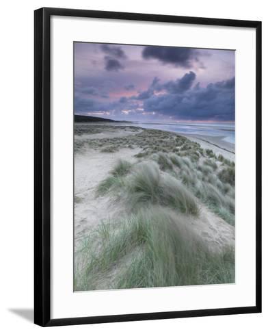 A Moody Spring Evening at Holkham Bay, Norfolk-Jon Gibbs-Framed Art Print