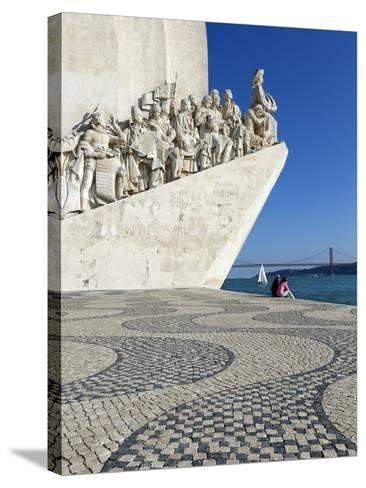 Monument to the Discoveries, Belem, Lisbon, Portugal, Europe-Stuart Black-Stretched Canvas Print