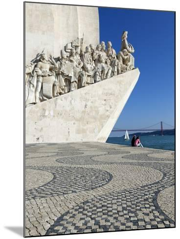 Monument to the Discoveries, Belem, Lisbon, Portugal, Europe-Stuart Black-Mounted Photographic Print