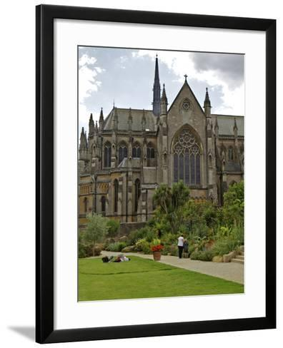Arundel Cathedral, Founded by Henry 15th Duke of Norfolk, Arundel, West Sussex, England, UK, Europe-Simon Montgomery-Framed Art Print