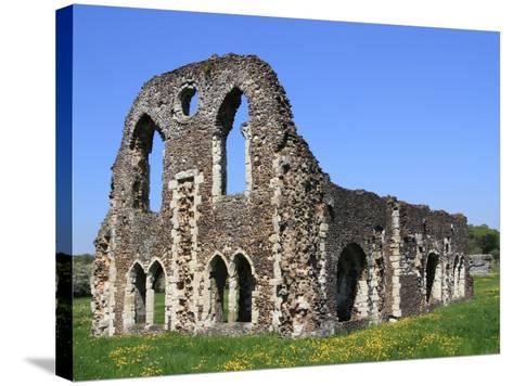 Waverley Abbey, Near Farnham, Surrey, England, United Kingdom, Europe-Rolf Richardson-Stretched Canvas Print