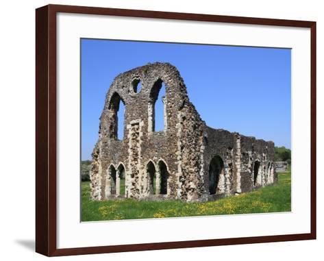 Waverley Abbey, Near Farnham, Surrey, England, United Kingdom, Europe-Rolf Richardson-Framed Art Print