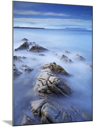 Dun Laoghaire Pier and Howth Island, Dublin, County Dublin, Republic of Ireland, Europe-Jeremy Lightfoot-Mounted Photographic Print