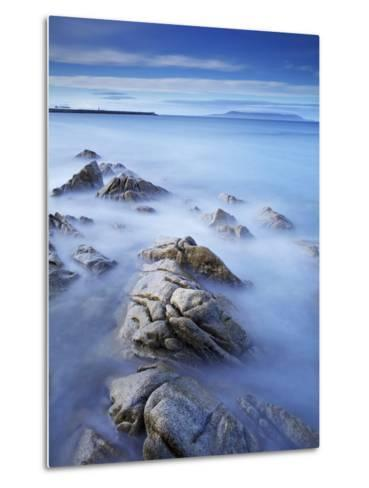Dun Laoghaire Pier and Howth Island, Dublin, County Dublin, Republic of Ireland, Europe-Jeremy Lightfoot-Metal Print