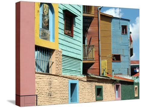 Caminito (Little Street), La Boca, Buenos Aires, Argentina, South America-Ethel Davies-Stretched Canvas Print