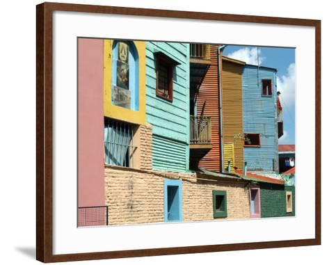 Caminito (Little Street), La Boca, Buenos Aires, Argentina, South America-Ethel Davies-Framed Art Print