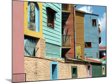Caminito (Little Street), La Boca, Buenos Aires, Argentina, South America-Ethel Davies-Mounted Photographic Print