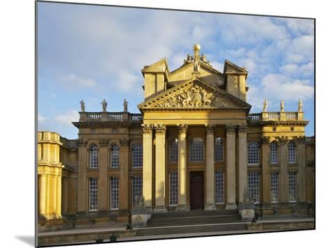 Main Entrance, Blenheim Palace, UNESCO World Heritage Site, Woodstock, Oxfordshire, England, UK-Peter Barritt-Mounted Photographic Print