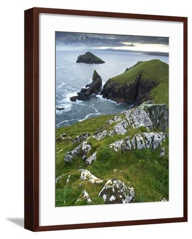 The Rumps, Pentire Point, Cornwall, England, United Kingdom, Europe-Jeremy Lightfoot-Framed Art Print
