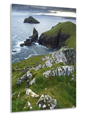 The Rumps, Pentire Point, Cornwall, England, United Kingdom, Europe-Jeremy Lightfoot-Metal Print