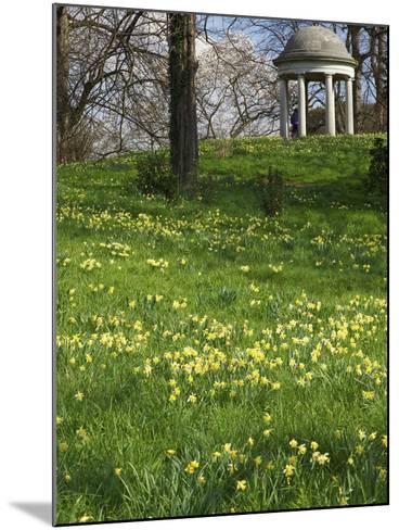 Temple of Aeolus in Spring, Royal Botanic Gardens, Kew, UNESCO World Heritage Site, London, England-Peter Barritt-Mounted Photographic Print