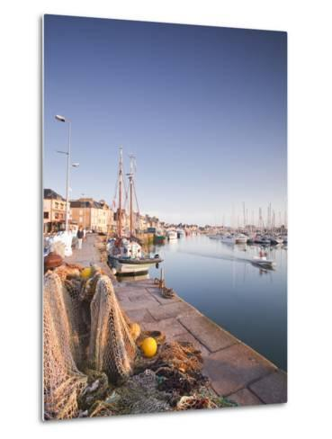 The Small Fishing Port of Saint Vaast La Hougue, Cotentin Peninsula, Normandy, France, Europe-Julian Elliott-Metal Print