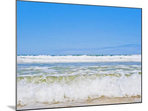 Tropical Paradise of Seventy Five Mile Beach, Fraser Island, UNESCO World Heritage Site, Australia-Matthew Williams-Ellis-Mounted Photographic Print