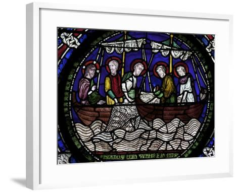 Miraculous Draught of Fishes, Canterbury Cathedral, UNESCO World Heritage Site, Canterbury, England-Peter Barritt-Framed Art Print