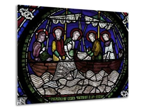 Miraculous Draught of Fishes, Canterbury Cathedral, UNESCO World Heritage Site, Canterbury, England-Peter Barritt-Metal Print