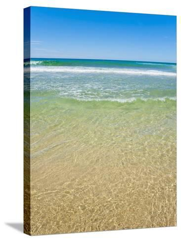 Crystal Clear Blue Sea at Surfers Paradise, Gold Coast, Queensland, Australia, Pacific-Matthew Williams-Ellis-Stretched Canvas Print