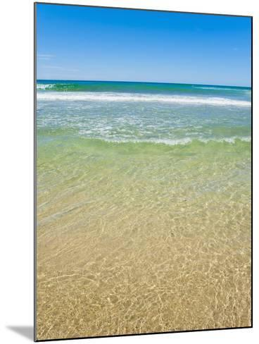 Crystal Clear Blue Sea at Surfers Paradise, Gold Coast, Queensland, Australia, Pacific-Matthew Williams-Ellis-Mounted Photographic Print
