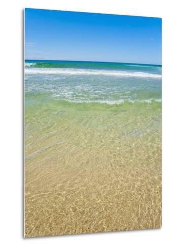 Crystal Clear Blue Sea at Surfers Paradise, Gold Coast, Queensland, Australia, Pacific-Matthew Williams-Ellis-Metal Print
