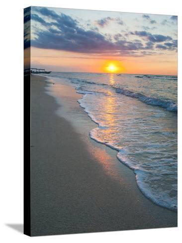 Sunset on the Tropical Island of Gili Trawangan, Gili Islands, Indonesia, Southeast Asia, Asia-Matthew Williams-Ellis-Stretched Canvas Print