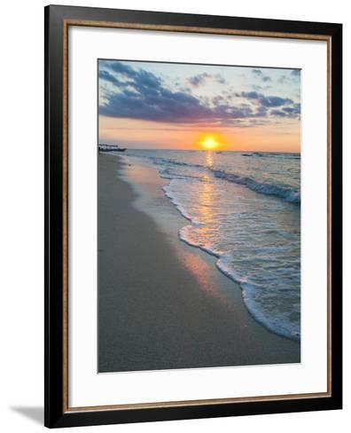 Sunset on the Tropical Island of Gili Trawangan, Gili Islands, Indonesia, Southeast Asia, Asia-Matthew Williams-Ellis-Framed Art Print