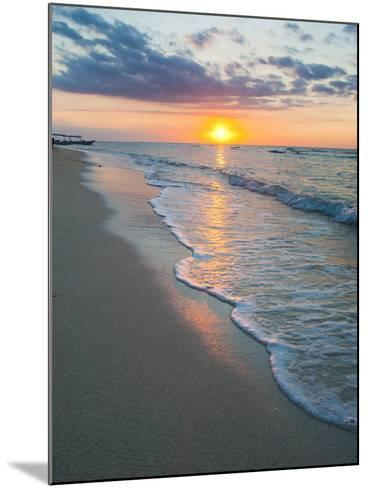 Sunset on the Tropical Island of Gili Trawangan, Gili Islands, Indonesia, Southeast Asia, Asia-Matthew Williams-Ellis-Mounted Photographic Print