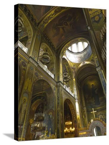 Saint Volodymyr's Cathedral, Kiev, Ukraine, Europe-Graham Lawrence-Stretched Canvas Print