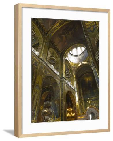 Saint Volodymyr's Cathedral, Kiev, Ukraine, Europe-Graham Lawrence-Framed Art Print