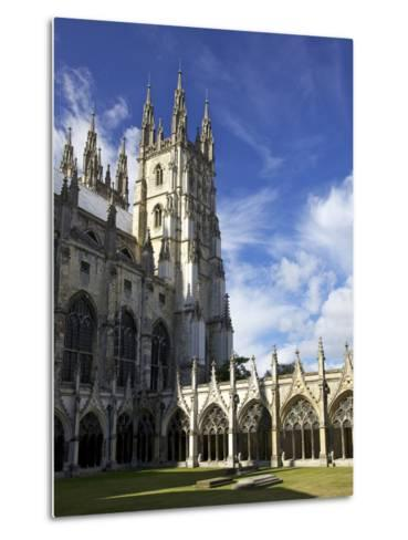 Northwest Tower of Canterbury Cathedral, UNESCO World Heritage Site, Canterbury, England-Peter Barritt-Metal Print