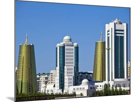 City Skyline, Astana, Kazakhstan, Central Asia, Asia-Jane Sweeney-Mounted Photographic Print