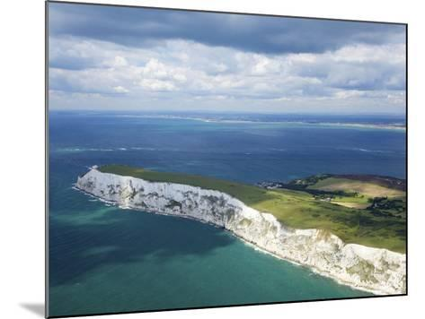 Aerial View of the Needles, Isle of Wight, England, United Kingdom, Europe-Peter Barritt-Mounted Photographic Print