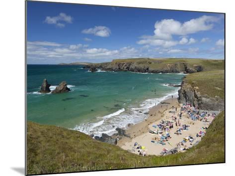 North Cornwall Coast Beach, Porthcothan, Near Newquay, Cornwall, England-Stuart Black-Mounted Photographic Print
