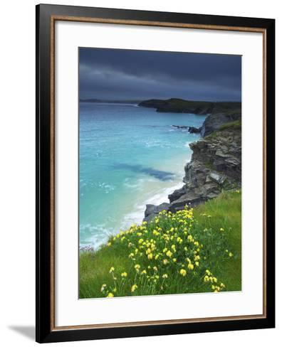 Mother Ivey's Bay, Padstow, Cornwall, England, United Kingdom, Europe-Jeremy Lightfoot-Framed Art Print