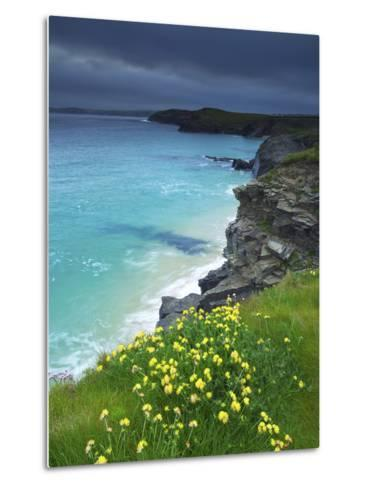 Mother Ivey's Bay, Padstow, Cornwall, England, United Kingdom, Europe-Jeremy Lightfoot-Metal Print