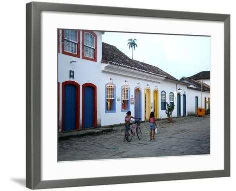 Parati, Rio de Janeiro State, Brazil, South America-Yadid Levy-Framed Art Print