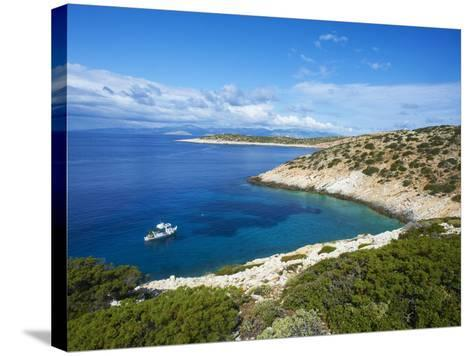 Natural Swimming Pool, Donoussa, Cyclades, Aegean, Greek Islands, Greece, Europe-Tuul-Stretched Canvas Print