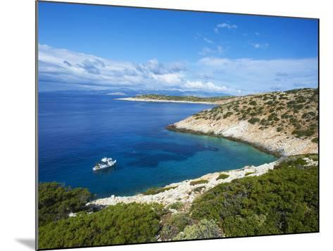 Natural Swimming Pool, Donoussa, Cyclades, Aegean, Greek Islands, Greece, Europe-Tuul-Mounted Photographic Print