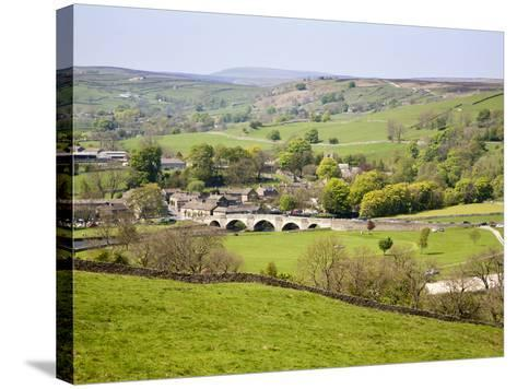 Village of Burnsall in Wharfedale, Yorkshire Dales, Yorkshire, England, United Kingdom, Europe-Mark Sunderland-Stretched Canvas Print