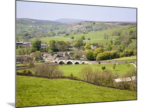 Village of Burnsall in Wharfedale, Yorkshire Dales, Yorkshire, England, United Kingdom, Europe-Mark Sunderland-Mounted Photographic Print