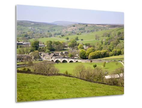 Village of Burnsall in Wharfedale, Yorkshire Dales, Yorkshire, England, United Kingdom, Europe-Mark Sunderland-Metal Print