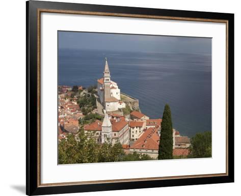 Piran, Istria, Adriatic Coast, Slovenia, Europe-Angelo Cavalli-Framed Art Print