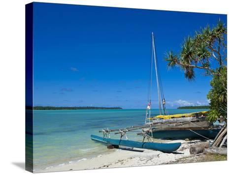 Ile Des Pins, New Caledonia, Melanesia, South Pacific, Pacific-Michael Runkel-Stretched Canvas Print