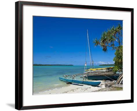 Ile Des Pins, New Caledonia, Melanesia, South Pacific, Pacific-Michael Runkel-Framed Art Print